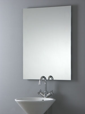 spiegel infrarotheizung 600 watt rahmenlos. Black Bedroom Furniture Sets. Home Design Ideas